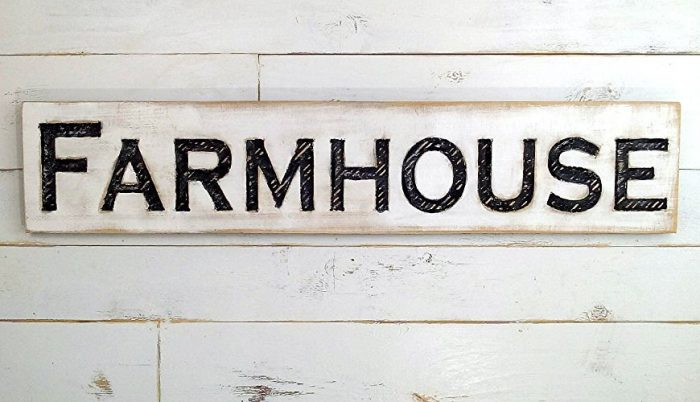Farmhouse Kitchen Sign for Farmhouse Kitchen Style | Celebrating Everyday Life with Jennifer Carroll | www.CelebratingEverydayLife.com