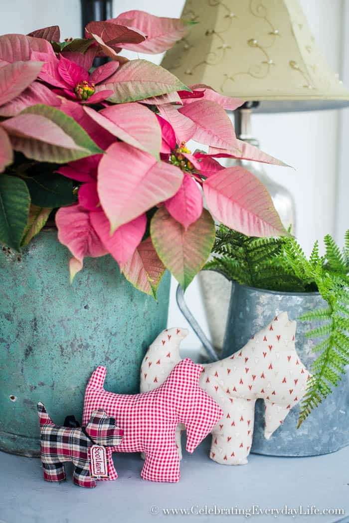 How to add Farmhouse Style to your Mudroom in Winter   Celebrating Everyday Life with Jennifer Carroll   www.CelebratingEverydayLife.com