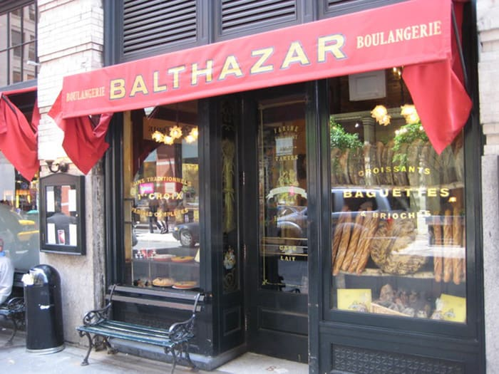 Balthazar French Cafe and Bakery in Soho