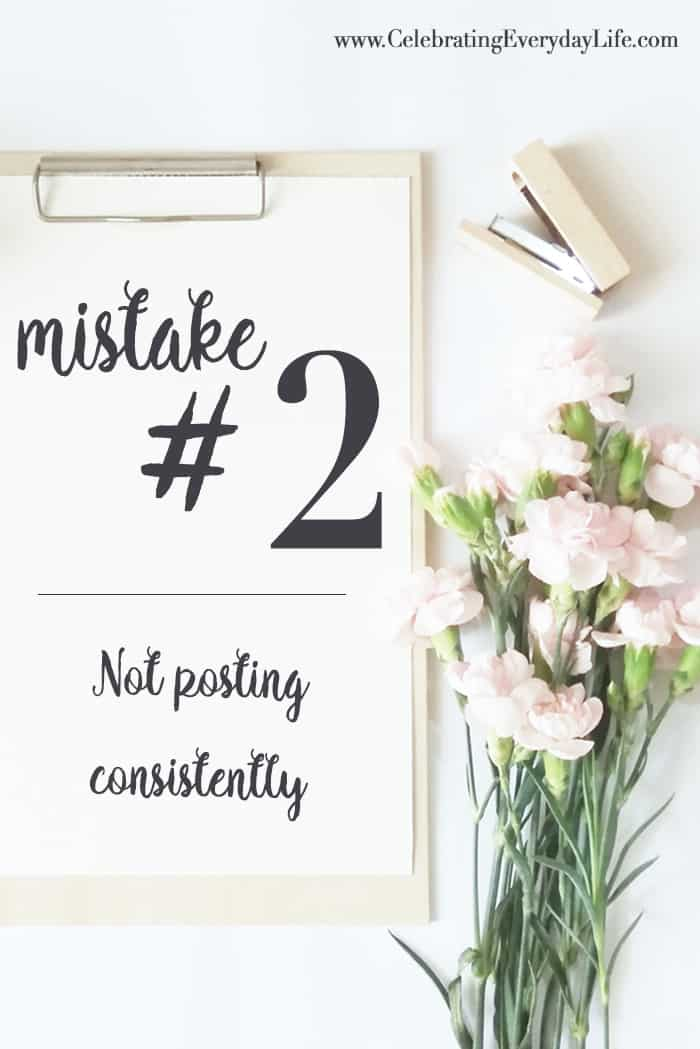 6 Blogging Mistakes I've Made (and how you can avoid them) | Celebrating Everyday Life with Jennifer Carroll | www.CelebratingEverydayLife.com