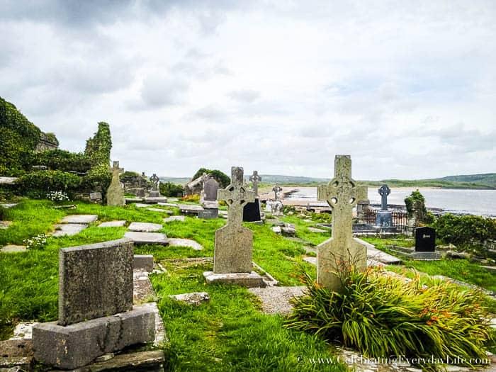 Ancient Irish Graveyard 6 Great Tips for Planning A Dream Trip to Ireland   Celebrating Everyday Life with Jennifer Carroll   CelebratingEverydayLife.com