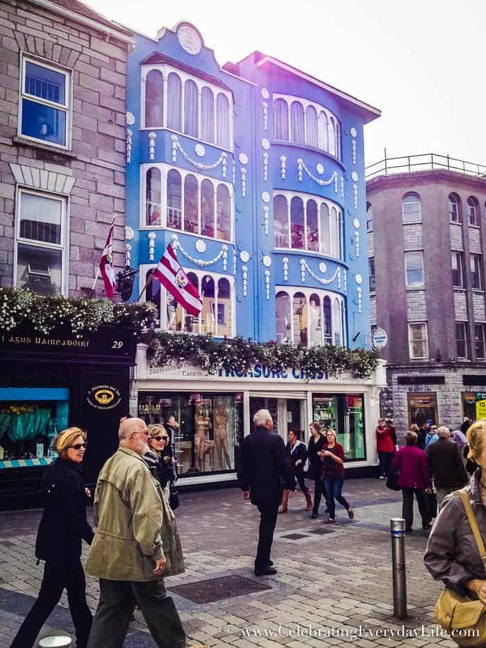 Galway Ireland 6 Great Tips for Planning A Dream Trip to Ireland   Celebrating Everyday Life with Jennifer Carroll   CelebratingEverydayLife.com