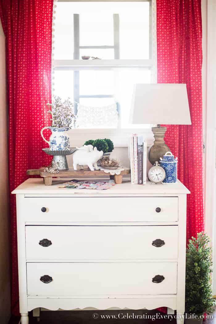 How To Create A Layered Kitchen Vignette   Celebrating Everyday Life with Jennifer Carroll   www.CelebratingEverydayLife.com
