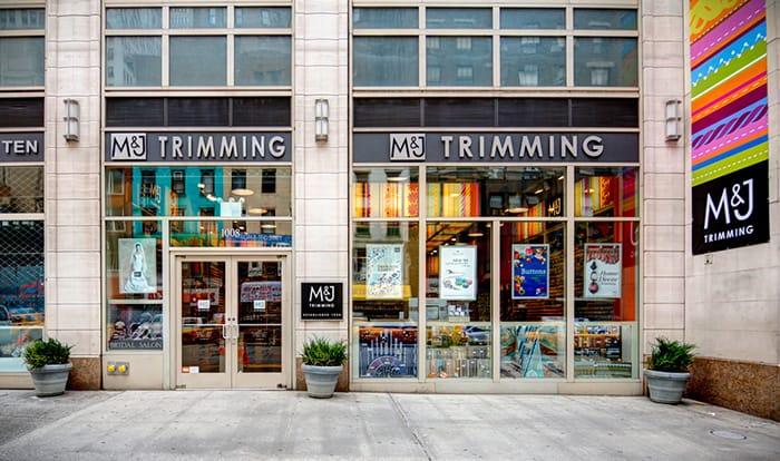 M&J trimming New York City