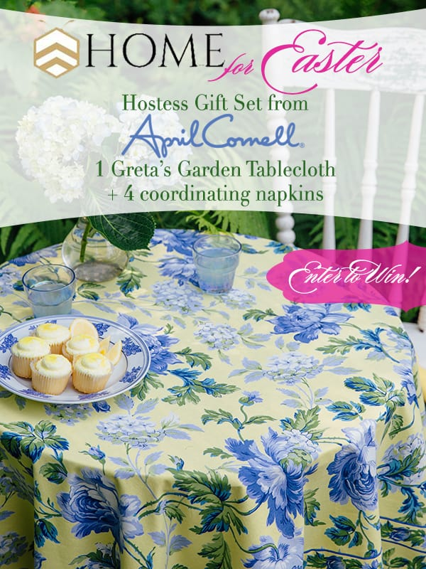 April Cornell giveaway with bHome Easter tour