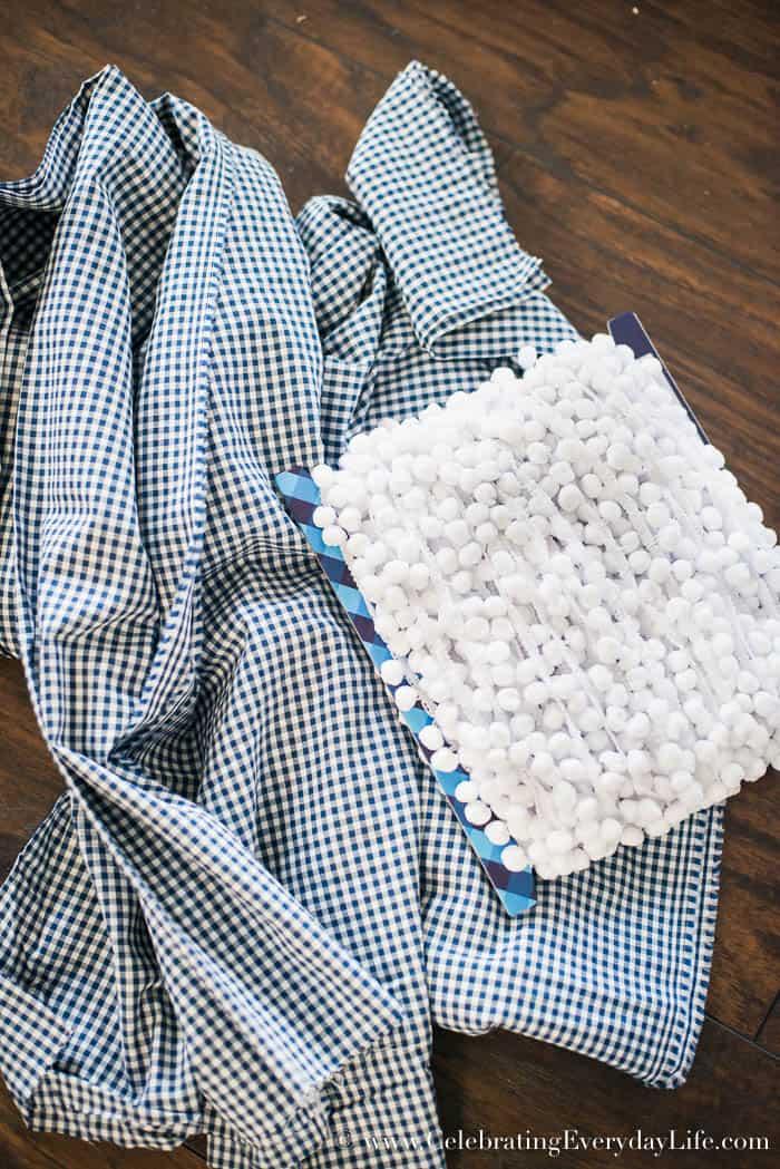 Easily create a Blue and White Kitchen Bookshelf Vignette, Celebrating Everyday Life with Jennifer Carroll