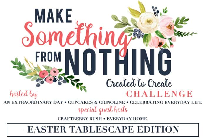 Make Something From Nothing Easter Challenge