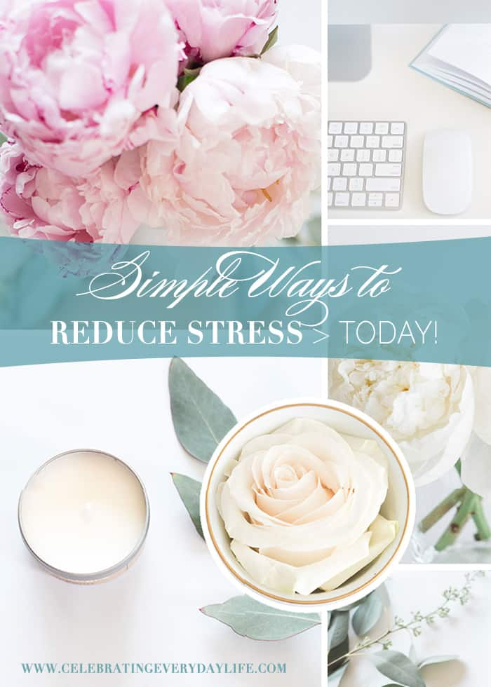 Reduce Stress | Increase Your Joy | Lower Your Stress | Live a Happier Life | Simple Ways to Reduce Stress TODAY | CelebratingEverydayLife.com