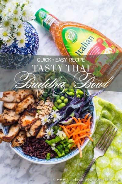 Tasty Thai Buddha Bowl recipe