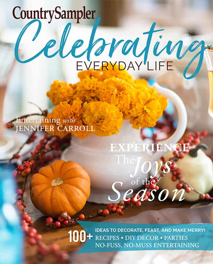 Celebrating Everyday Life with Jennifer Carroll magazine