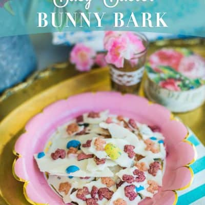 Easy Easter Bunny Bark