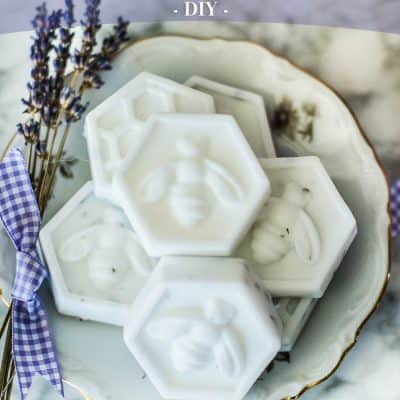 Easy DIY Bee Soap