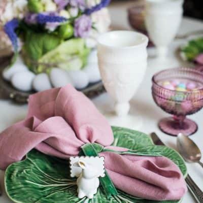 A Simple Farmhouse Easter Table