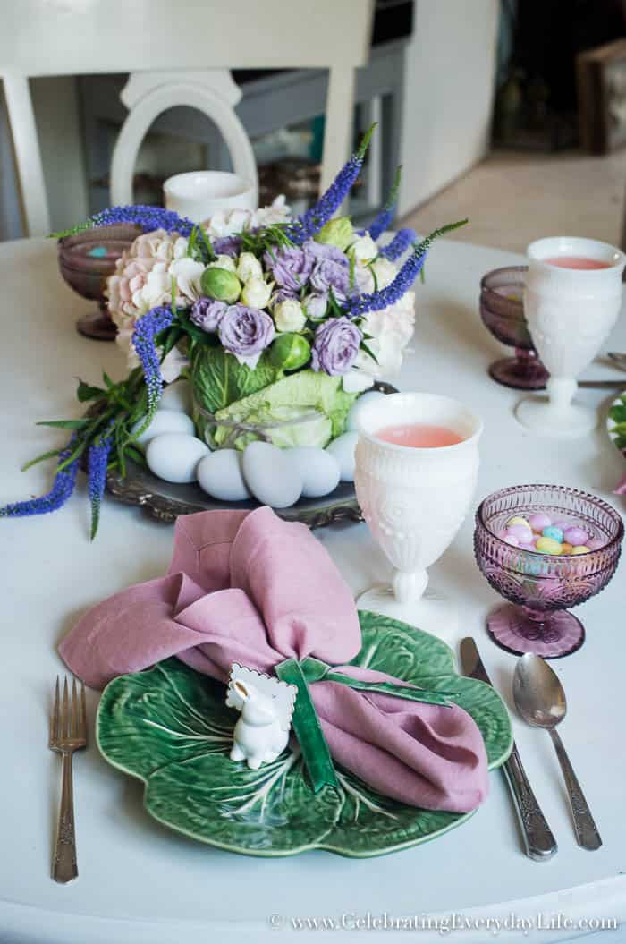 Set a Farmhouse Easter Table, A beautiful Easter table can be simple with these Easy Easter Ideas