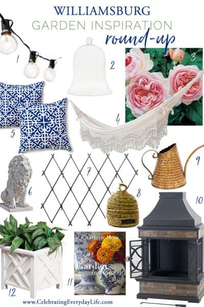 12 Ways to Add Williamsburg Style to Your Garden