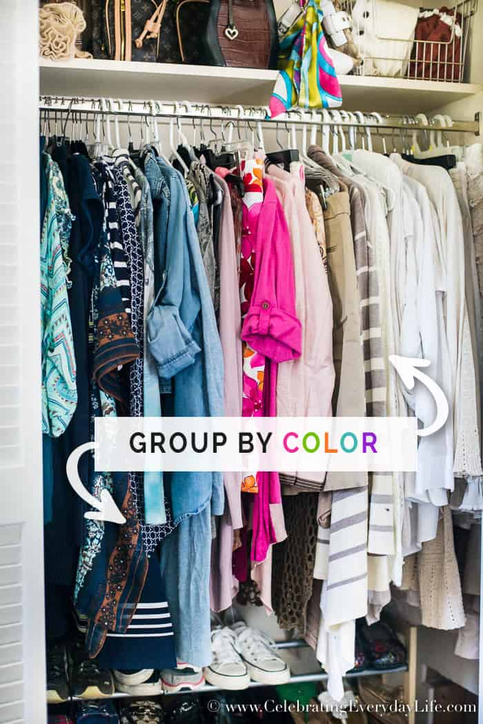 7 No-Fail Ways To Organize Your Closet NOW, Easy tips to help you
