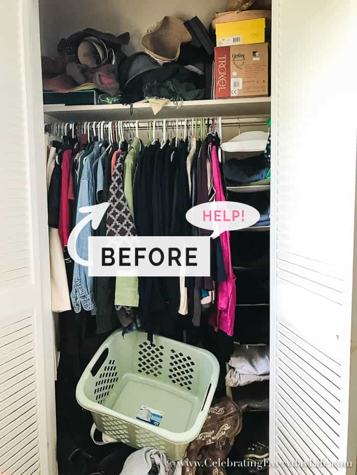7 No Fail Ways To Organize Your Closet Now Celebrating