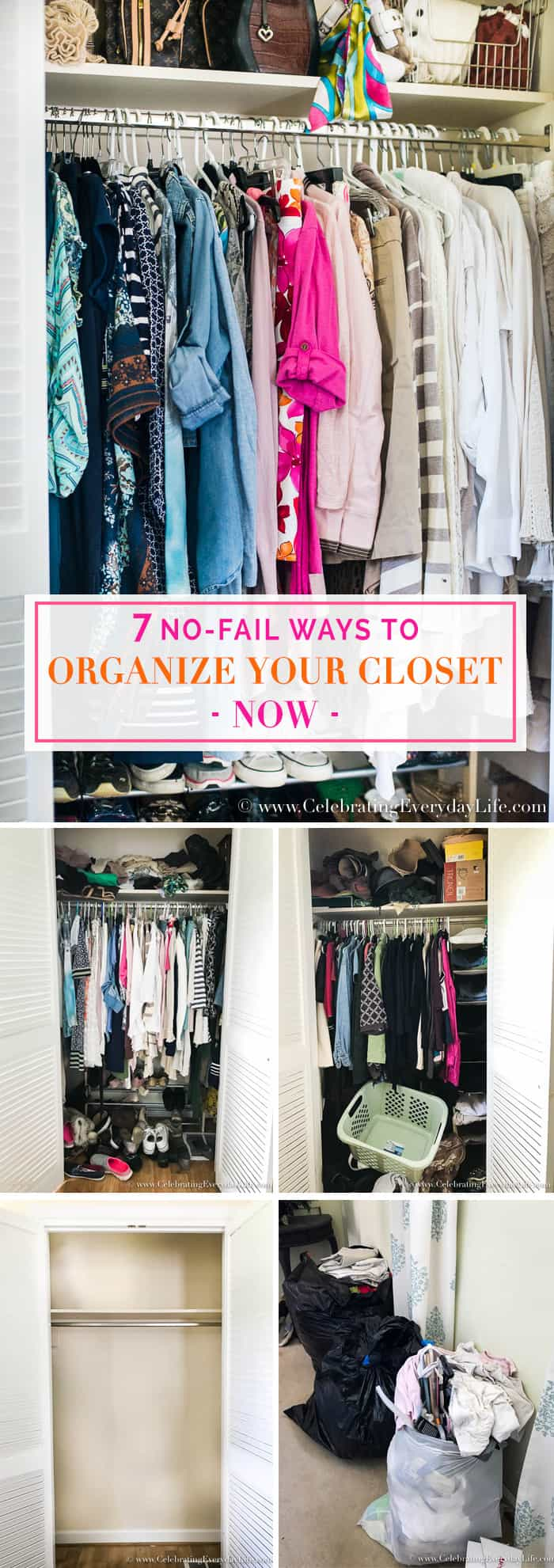 Organize Your Closet With A Capsule Wardrobe: 7 No-Fail Ways To Organize Your Closet Now