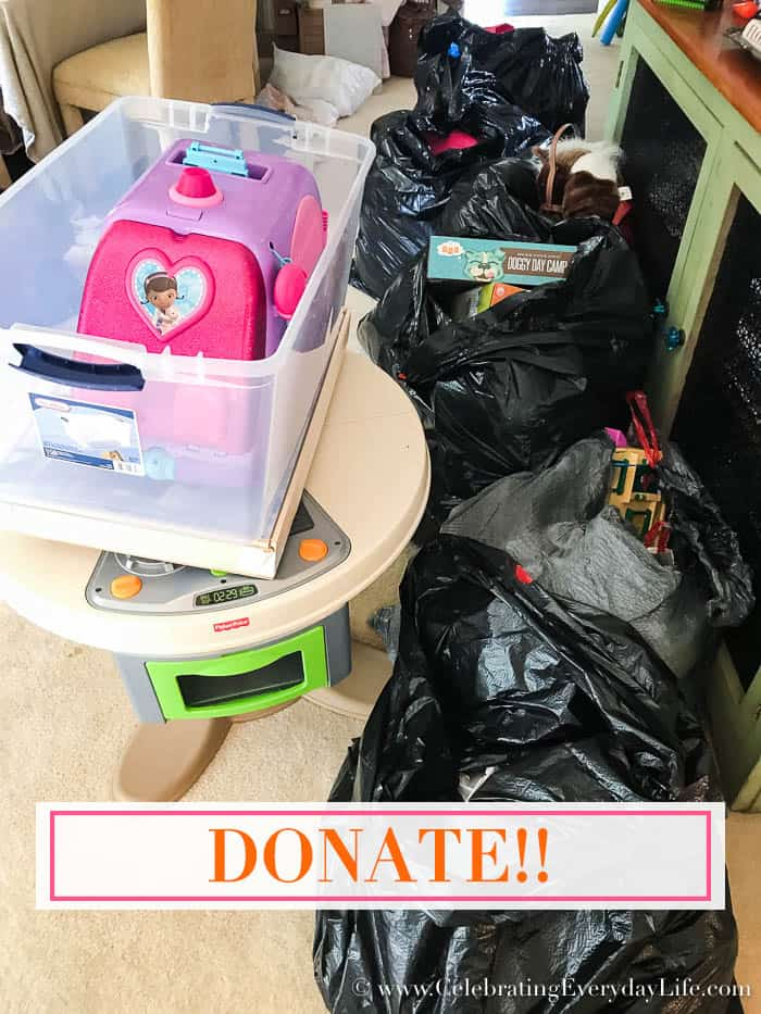 Donate Toys from 7 Guilt-Free Ways and Reasons to Throw Out Your Kids Toys Now, Celebrating Everyday Life with Jennifer Carroll