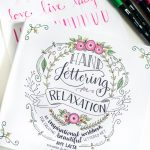 Hand Lettering for Relaxation Book Review