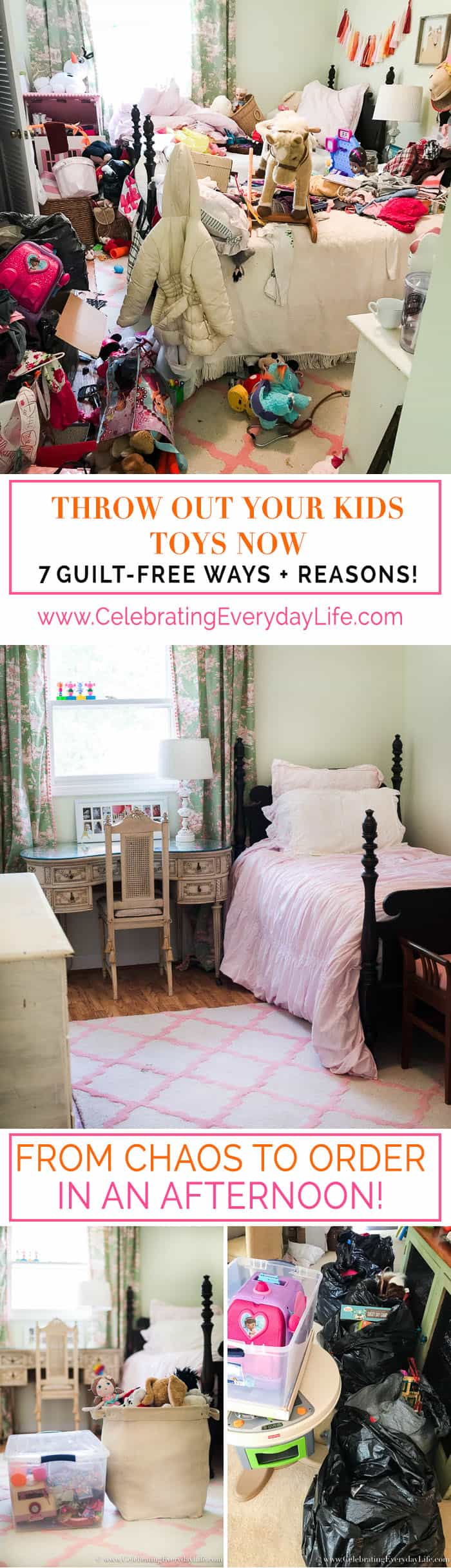 7 Guilt-Free Ways and Reasons to Throw Out Your Kids Toys Now, Celebrating Everyday Life with Jennifer Carroll