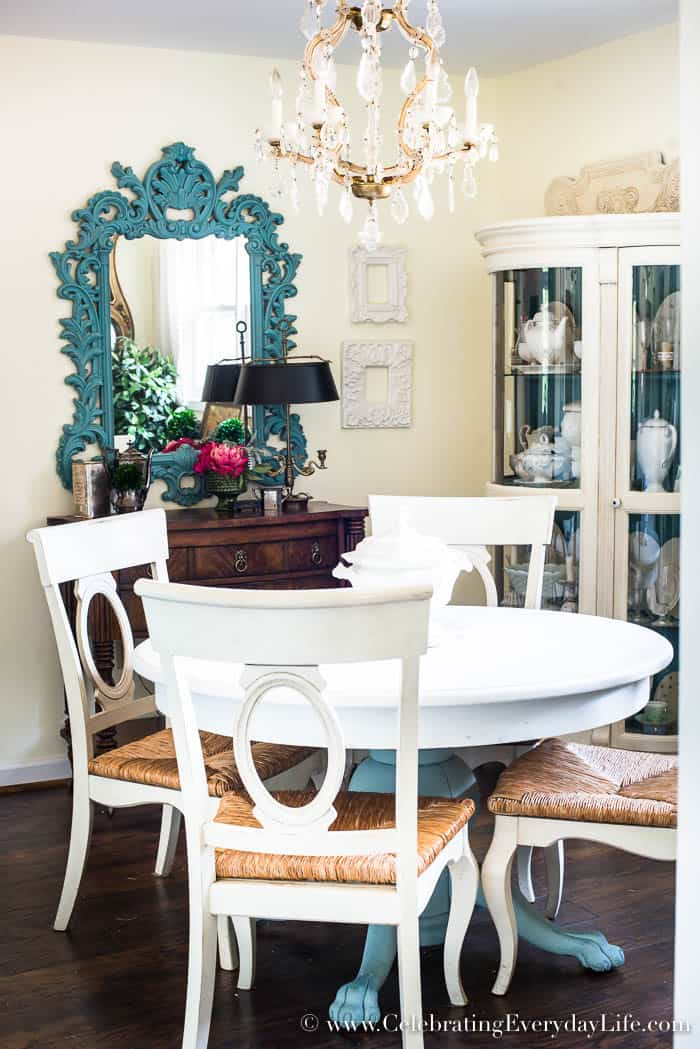 How To Quickly Spruce Up A Boring Dining Room-1