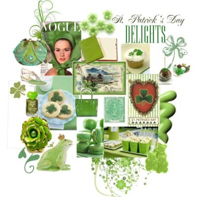 St. Patrick's Day Delights Inspiration Board!