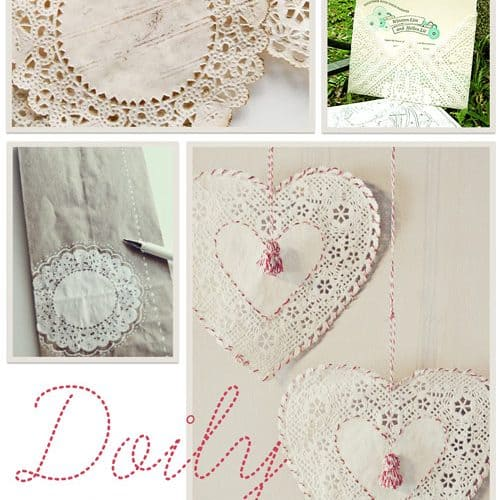Lovin' DIY Doily Projects