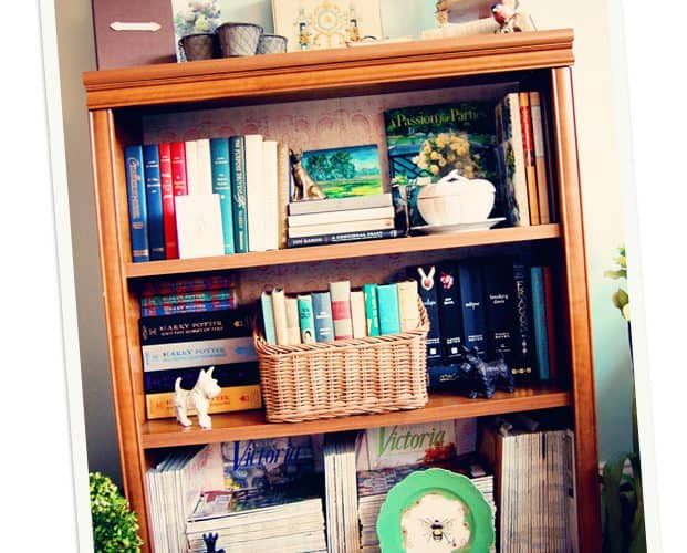 How To Organize a Bookshelf