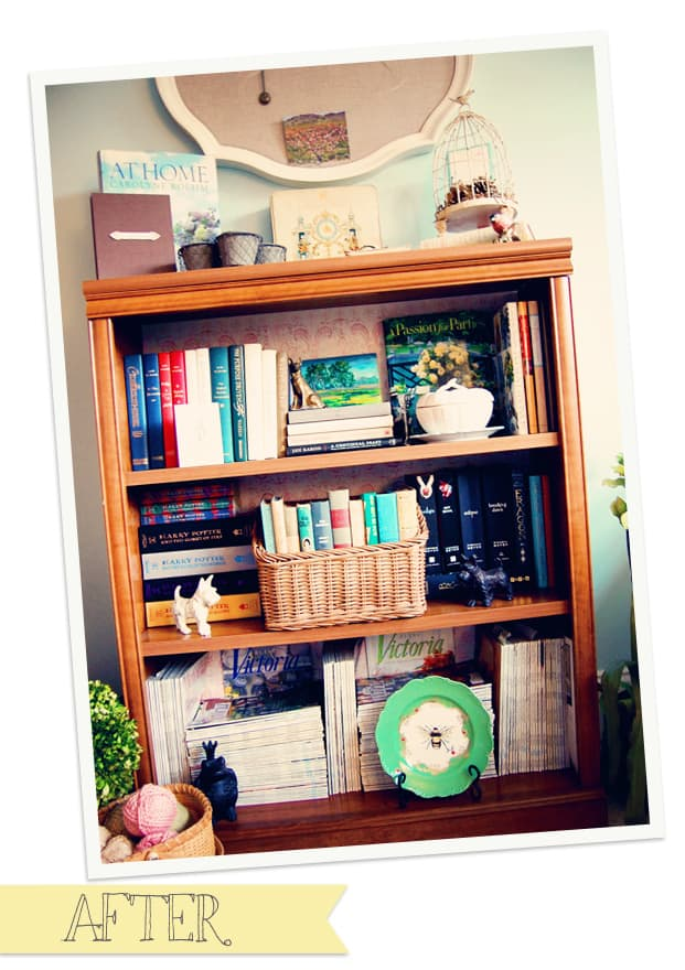 How to Organize a Bookshelf, Celebrating Everyday Life blog