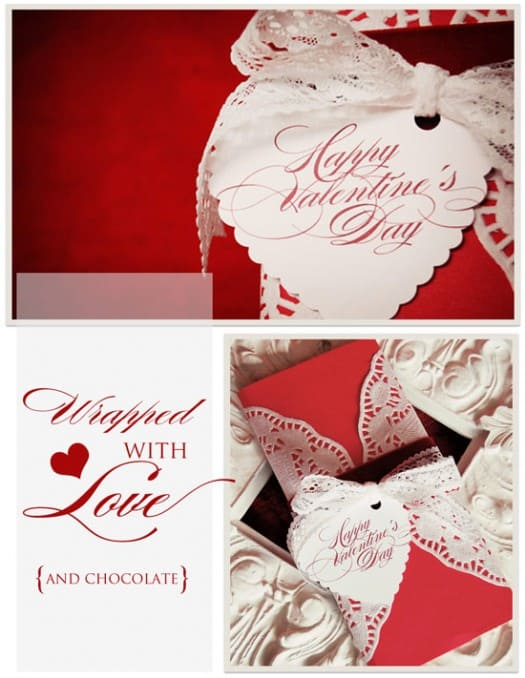 Easy DIY Valentine Wrapping ideas | Celebrating Everyday Life with Jennifer Carroll | www.CelebratingEverydayLife.com