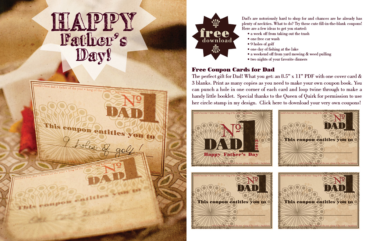graphic about Father's Day Fill in the Blank Printable identify no cost printable Fathers Working day fill-within just-the-blank coupon codes