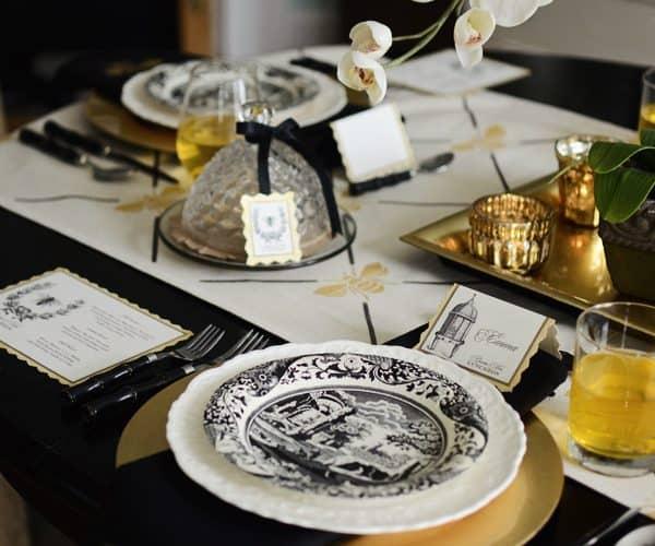 Queen Bee Luncheon ~ A Stenciled Affair