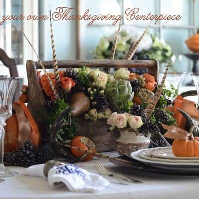 {Thanksgiving DIY} How to make your own Thanksgiving Centerpiece