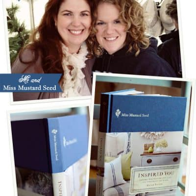 A Book Signing with Miss Mustard Seed!