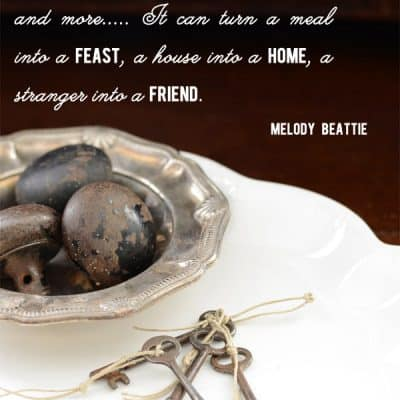 {gratitude quote} Gratitude Unlocks the Fullness of Life by Melody Beattie