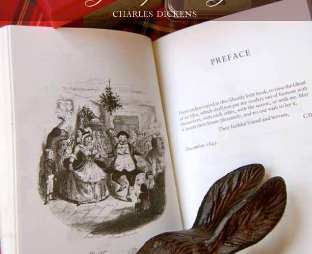 """{Be Inspired} """"Christmas in My Heart"""" quote by Charles Dickens"""