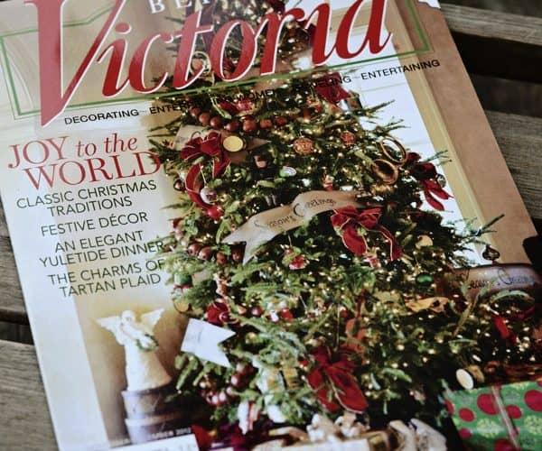The Charms of A Tartan Christmas, Me and Victoria magazine!