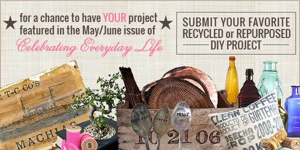 {Get Featured!} Recycled & Repurposed DIY Project Link Party
