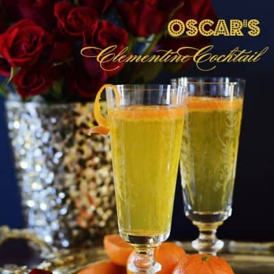 Oscar Party Food :: Cocktails and Snacks for a Fan-tastic Soiree