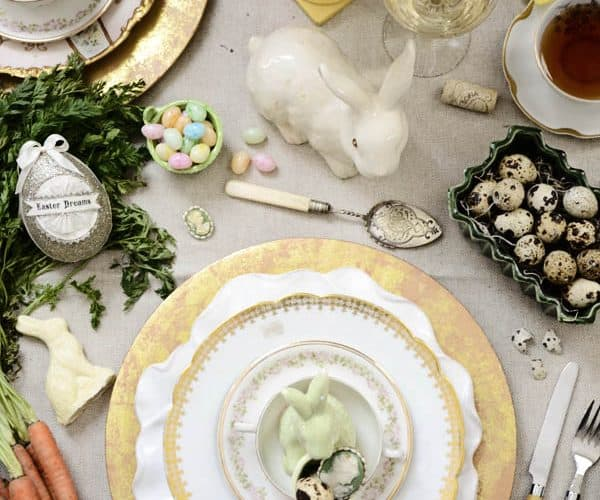 Easter Place Setting Turned Easter Inspiration Board
