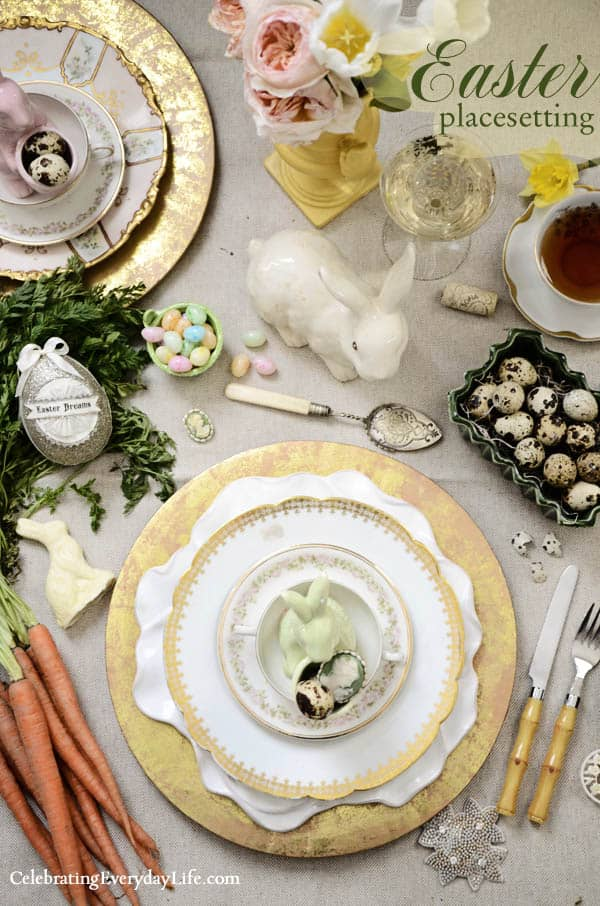 Easter Place setting Overview
