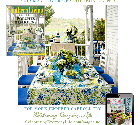 I'm featured in Southern Living: May 2013!