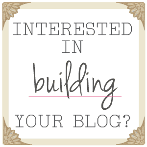 Build Your Blog with Thistlewood Farm