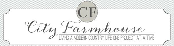 City Farmhouse blog logo