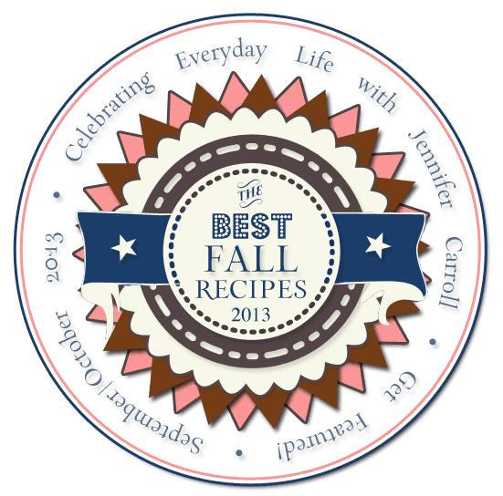Fall 2013 Recipe Contest, Celebrating Everyday Life with Jennifer Carroll magazine