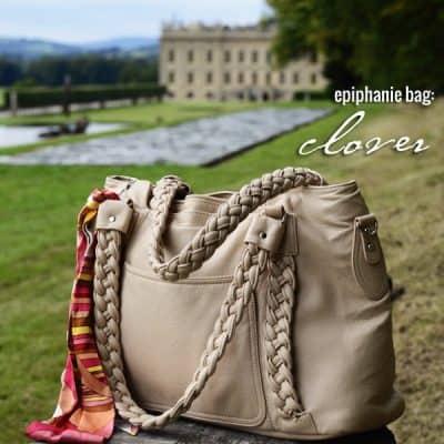 my lovely epiphanie clover camera bag!