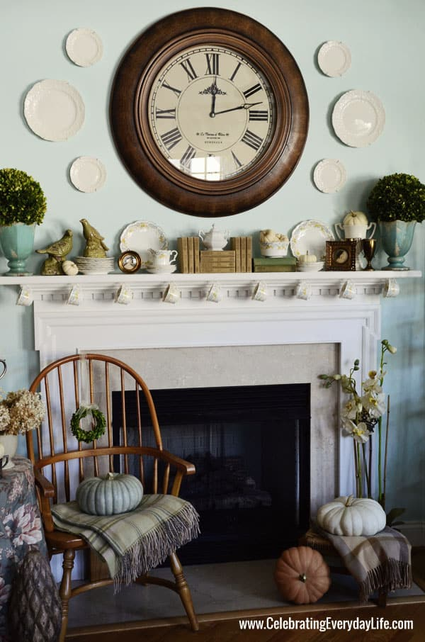 & My October 2013 Mantel and a China mystery!