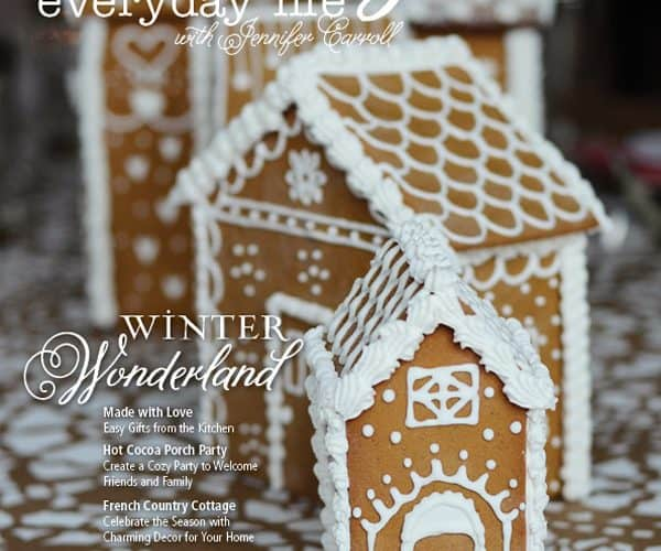 The November December 2013 issue of Celebrating Everyday Life with Jennifer Carroll is HERE!