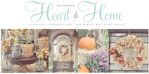 All Things Heart and Home blog logo